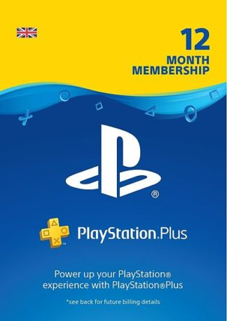 PS Plus 12 Months UK