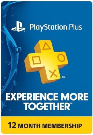 Sony PlayStation Plus Card for PS4/PS3/PS-Vita – 1 Year (SEA)