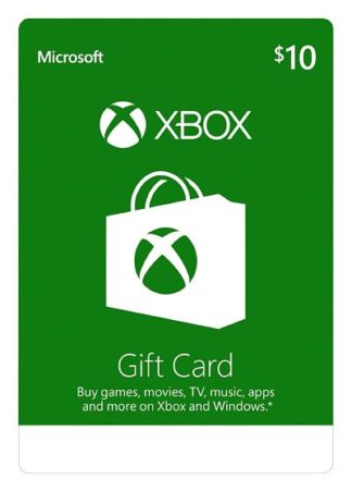 Xbox Live Gift Card $10