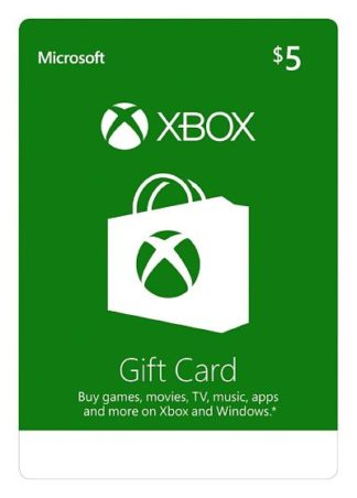 Xbox Live Gift Card $5