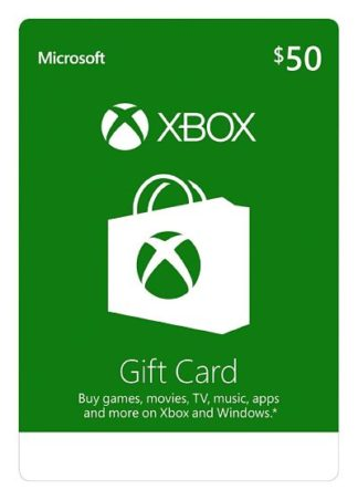 Xbox Live Gift Card $50
