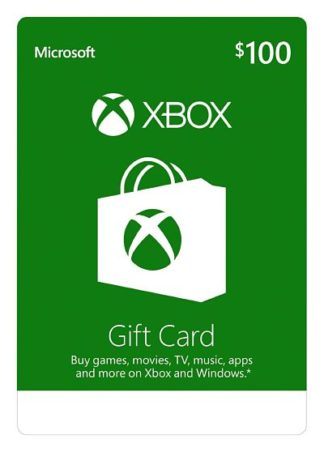Xbox Live Gift Card $100