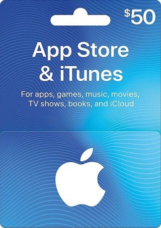 iTunes $50 USD Gift Card