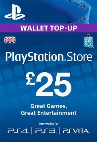 PSN Card 25 GBP UK