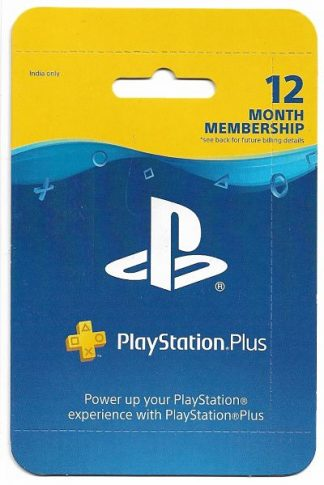 12 Month PS PLUS