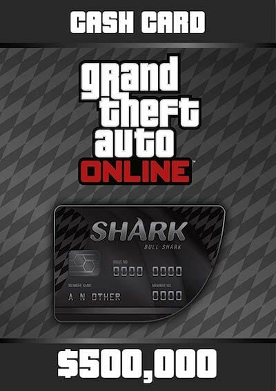 grand theft auto online great white shark cash card ps4