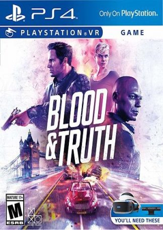 Blood & Truth (PS VR) (PS4) by Sony